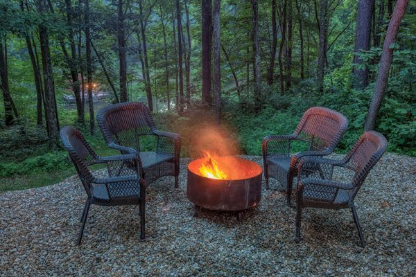 Cherry Ridge of Hocking Hills Oak Ridge fire pit
