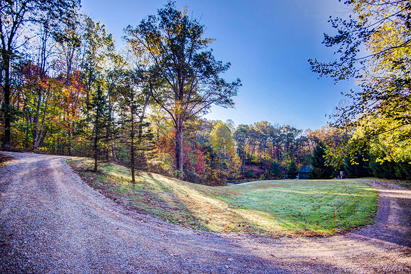 Cherry Ridge Retreat Grounds trails