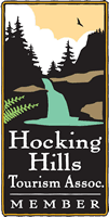 hocking hills tourism association logo