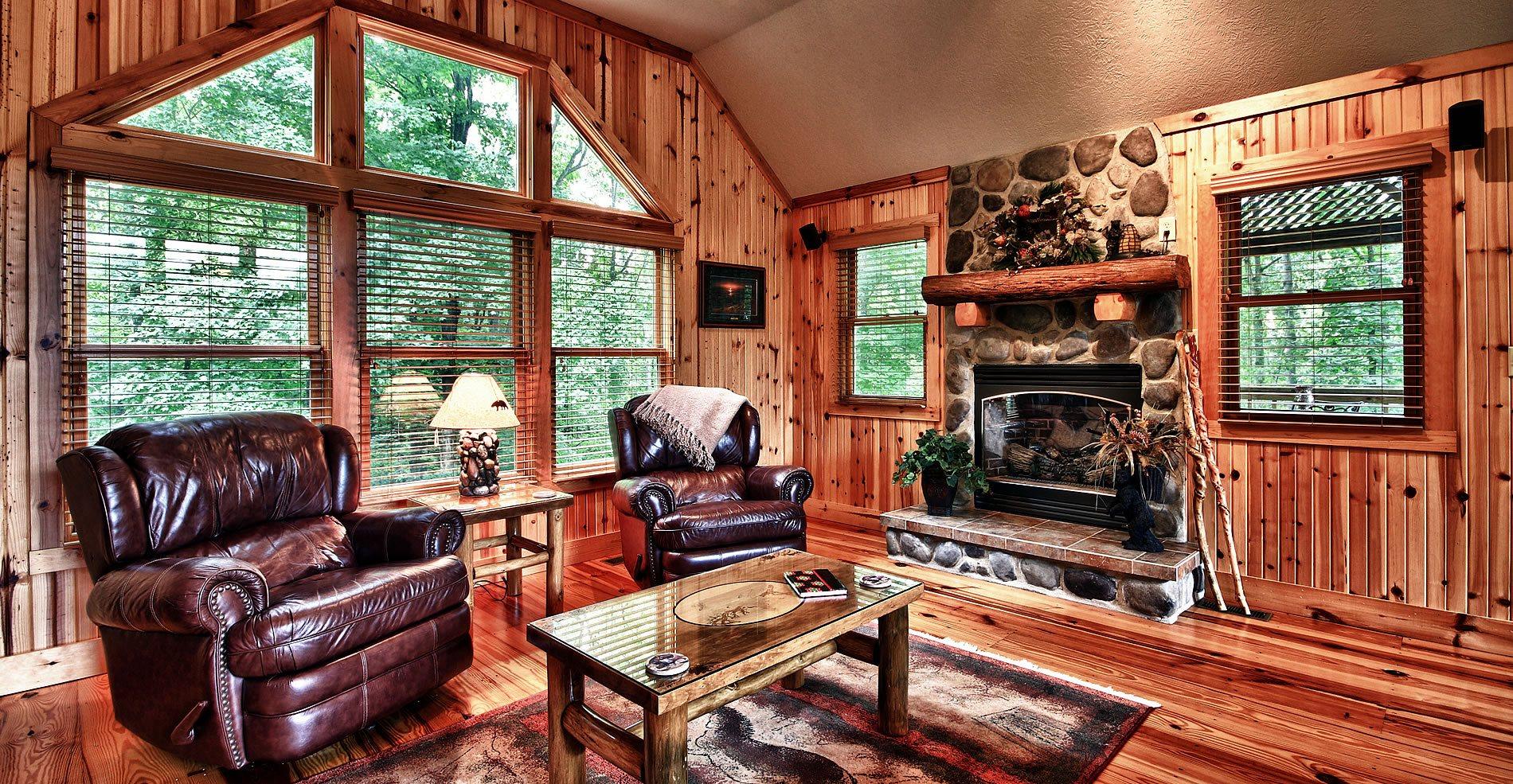 Ravine Ridge Cabin Hocking Hills Interior