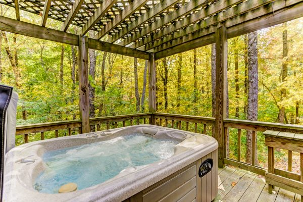 Picture of Hot Tub at Ravine's Edge