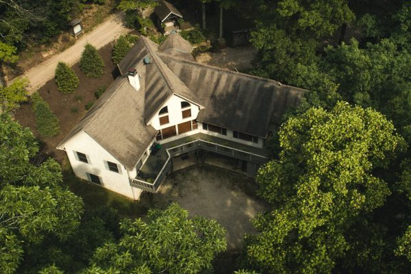 Overhead shot of the Lodge