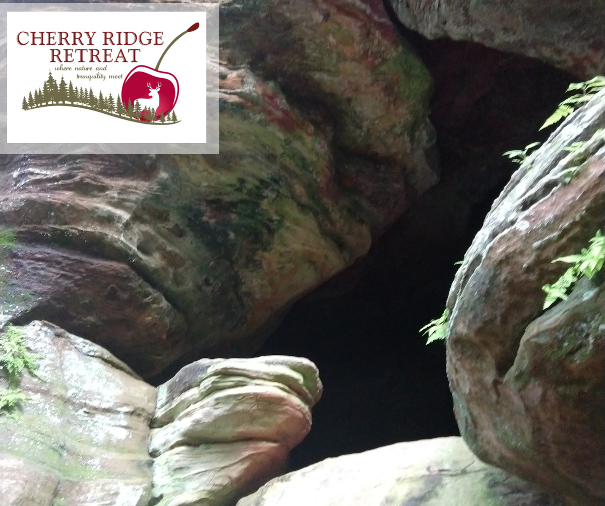 Rockhouse of Hocking Hills, cave opening