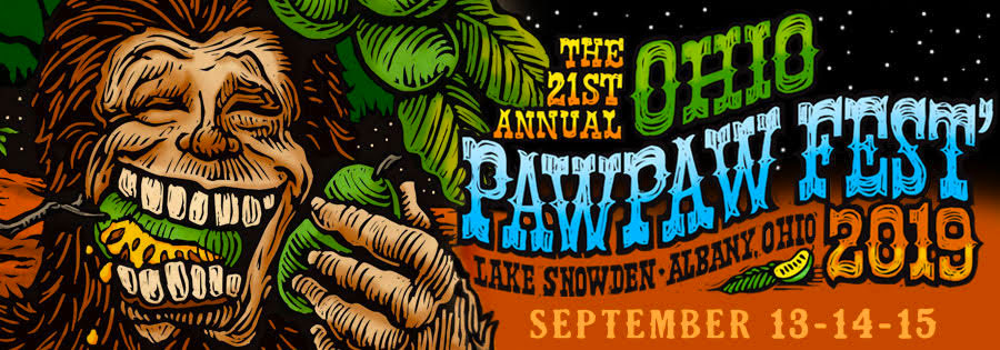 paw paw fest 2019 banner image