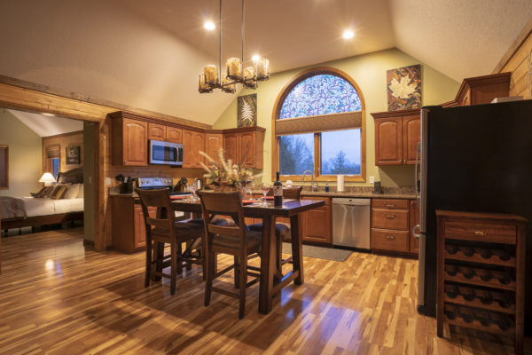 Observatory Luxury Romantic Cabin Kitchen