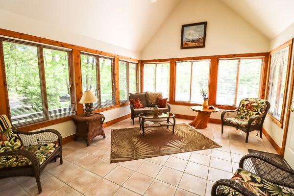 Lake House Sun Room